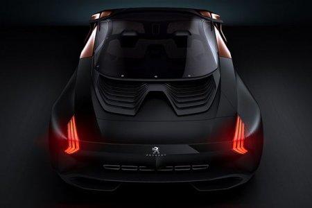 Ультрасовременный среднемоторный суперкар Peugeot Onyx